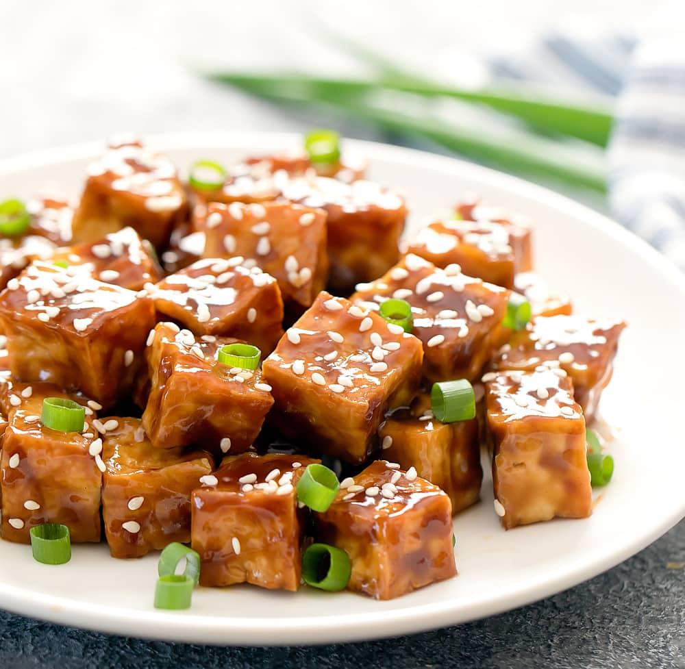 CrispyFried Tofu